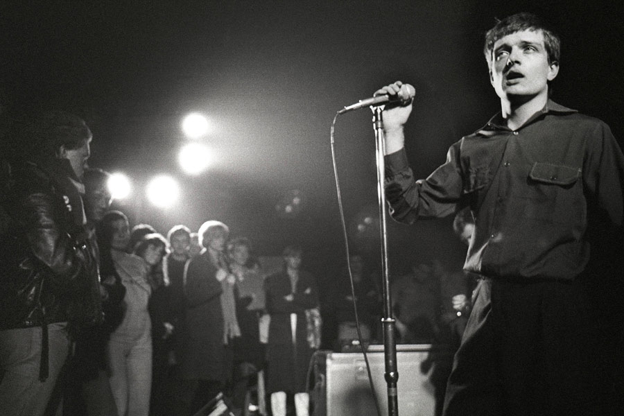 Joy Division launch first ever official website