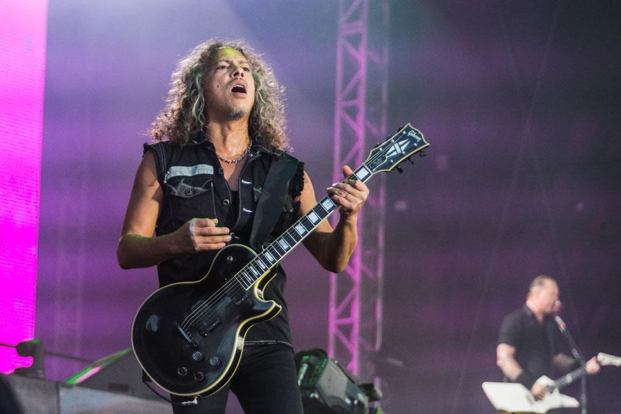 Metallica are '25 per cent' done with new album, says guitarist