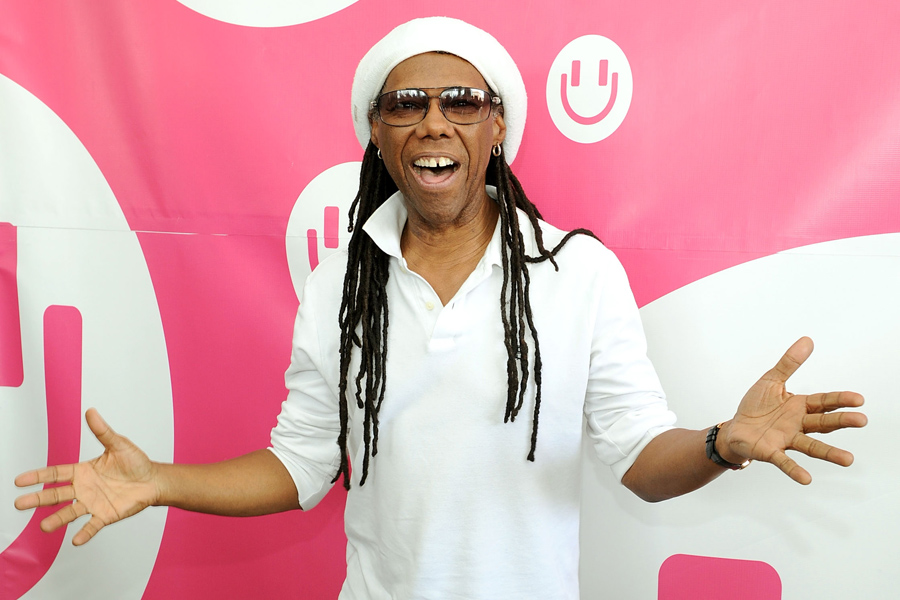 Nile Rodgers working on new song with 'almost everybody that's ever sung with me'