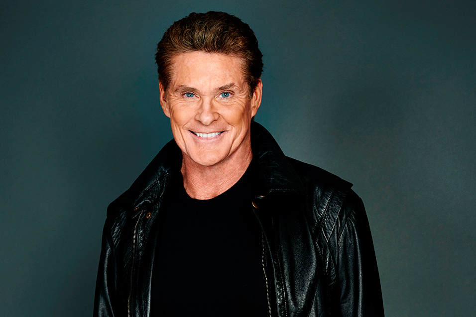 david hasselhoff for glastonbury the baywatch star on new show hoff the record and returning to. Black Bedroom Furniture Sets. Home Design Ideas