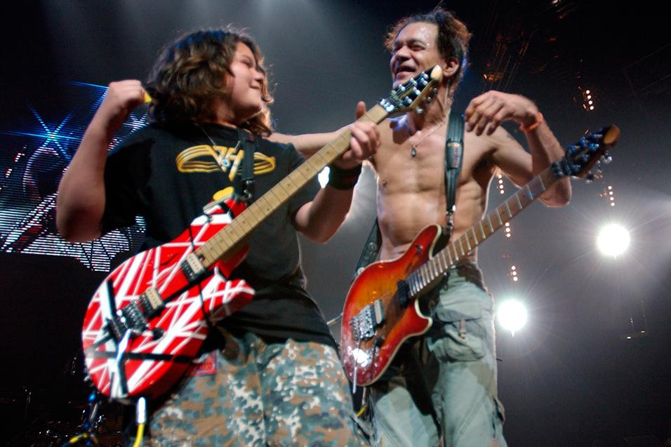 Halen eddie net worth van The Real