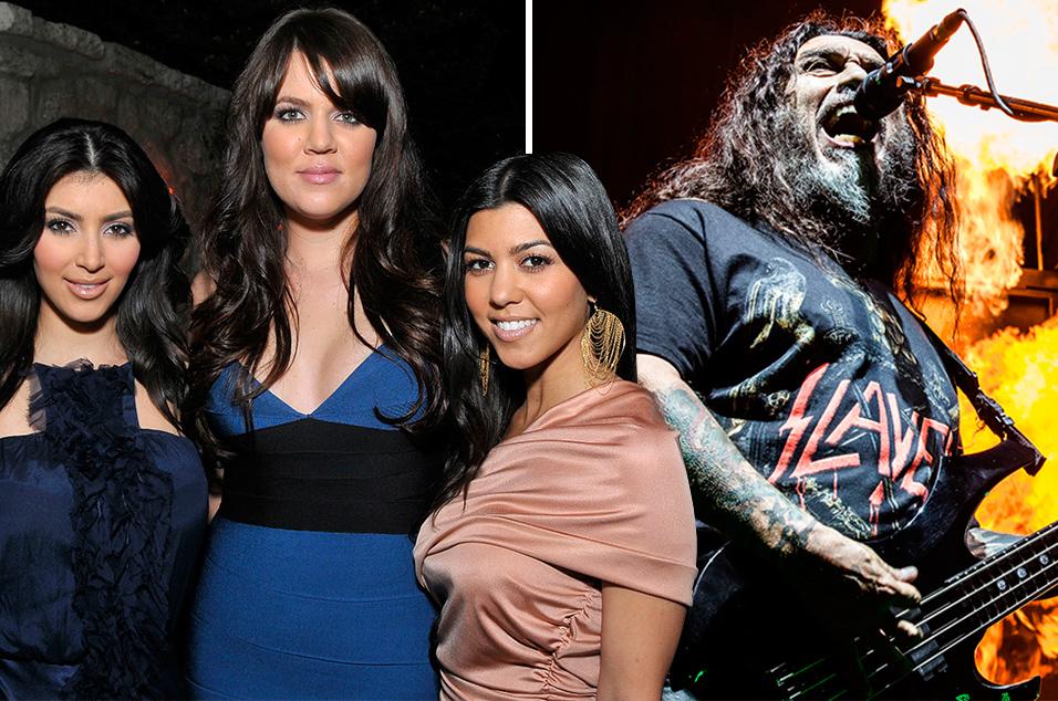 Slayer Guitarist Wears Kill The Kardashians T Shirt At