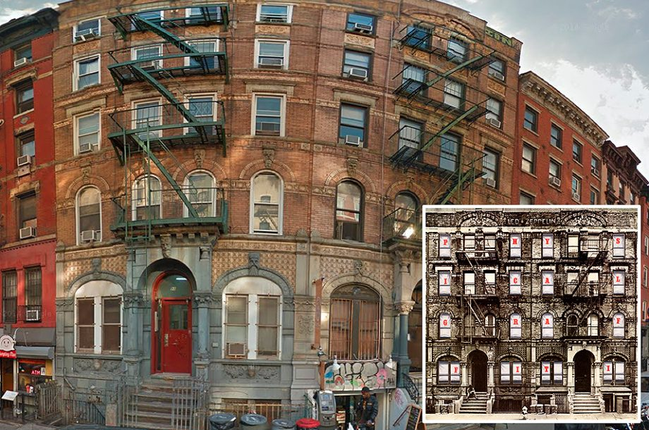 Led Zeppelin Physical Graffiti  St Marks Place