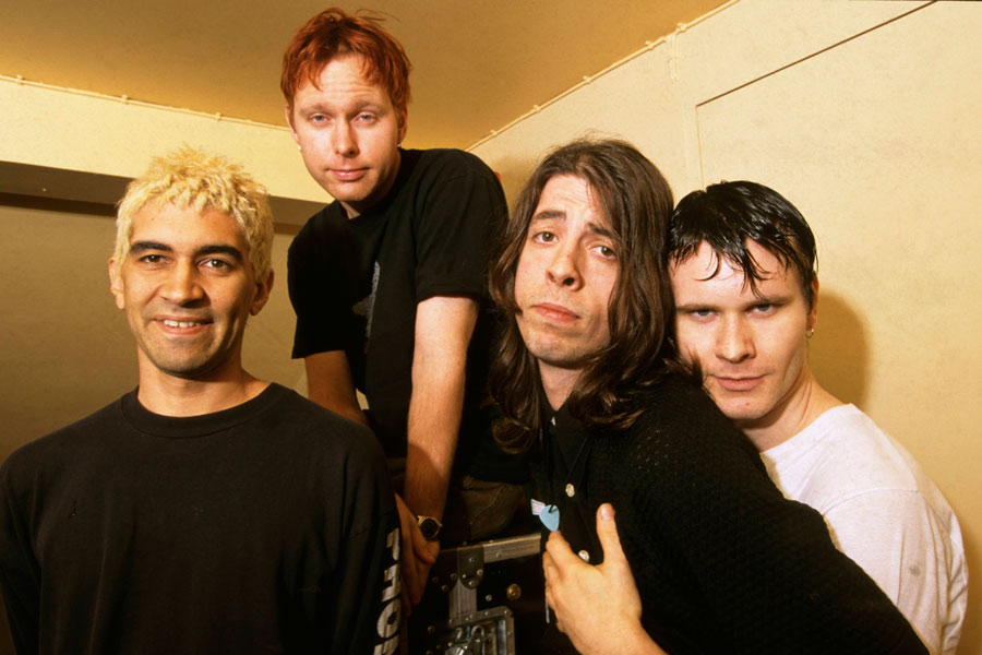 9e8ab55ca Back To The Foo-ture: The Story Of Foo Fighters' First Ever Show - NME