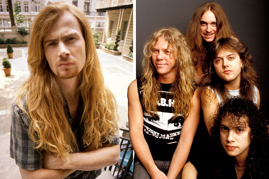 megadeth 39 s dave mustaine would reject chance to rejoin metallica nme. Black Bedroom Furniture Sets. Home Design Ideas