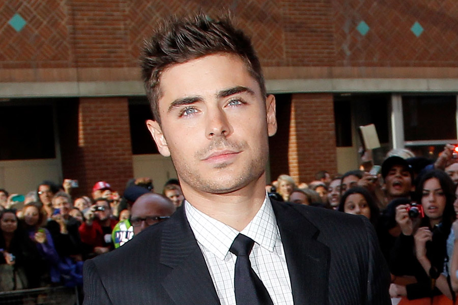 Zac Efron forgets title of massive 'High School Musical' hit – watch