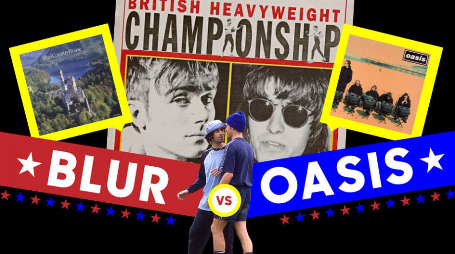 Blur And Oasis' Big Britpop Chart Battle – The Definitive Story Of