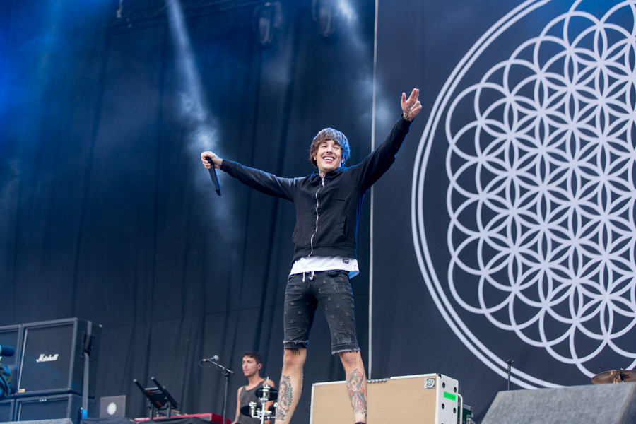 Bring Me The Horizon reunite with former guitarist Curtis Ward during Wembley Arena gig