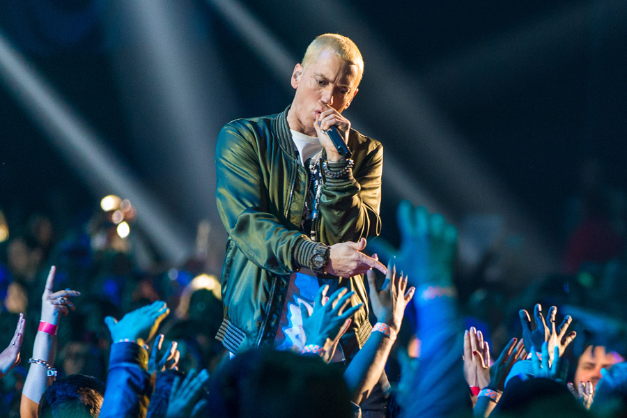 Eminem banned from Hyde Park gig due to 'offensive' and ...