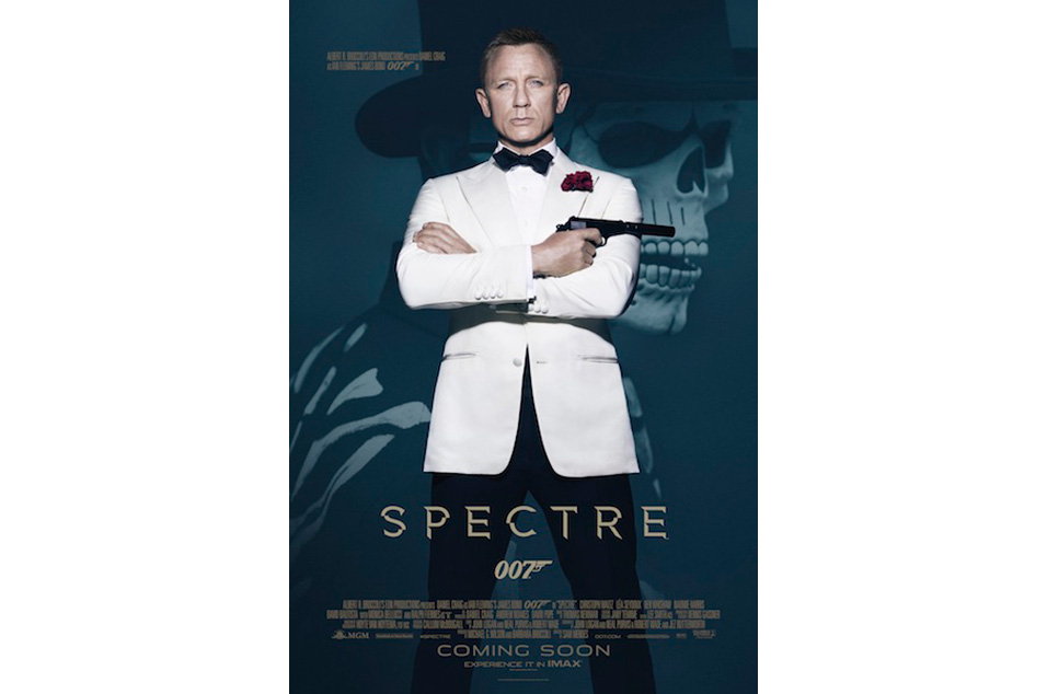 New Poster Released For 24th Bond Film Spectre Nme