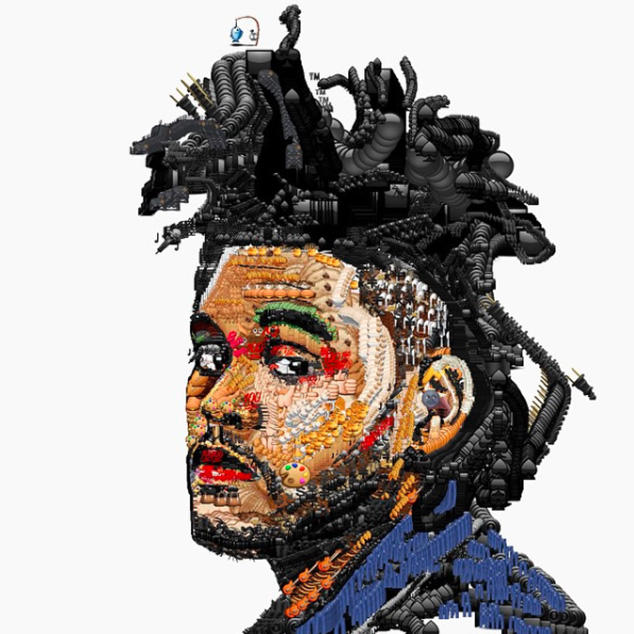 check out these portraits of rihanna miley cyrus drake and more made from emojis nme