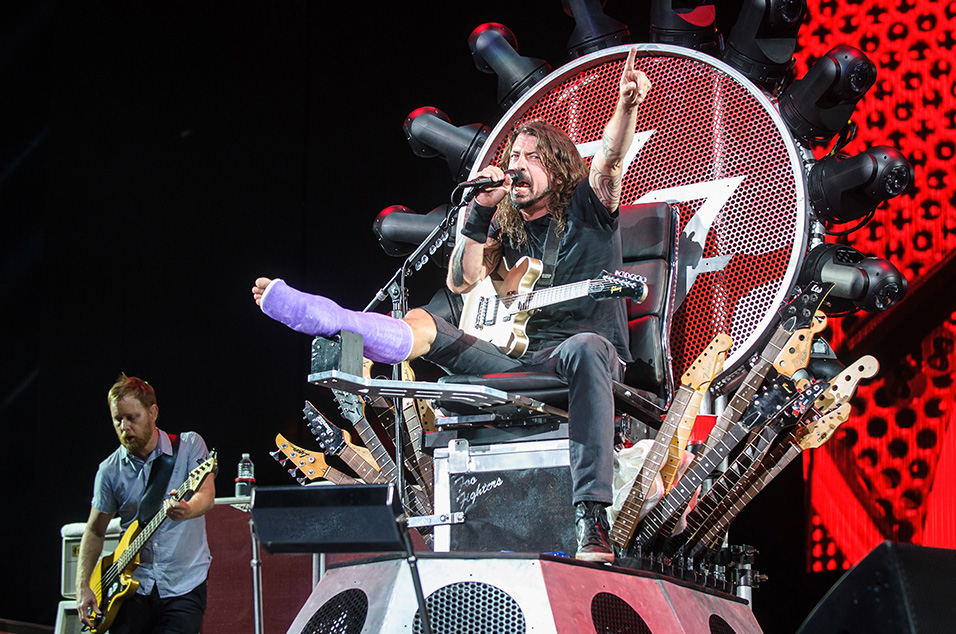 Foo Fighters win two Emmy Awards for documentary series 'Sonic Highways'