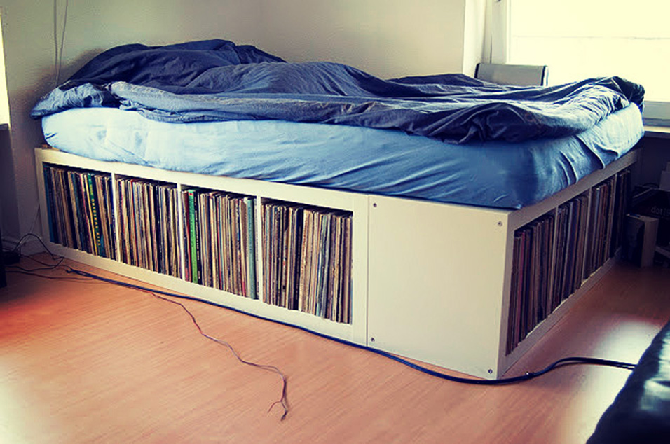 Thinking Outside The Record Box 16 Innovative Ways To Store Your