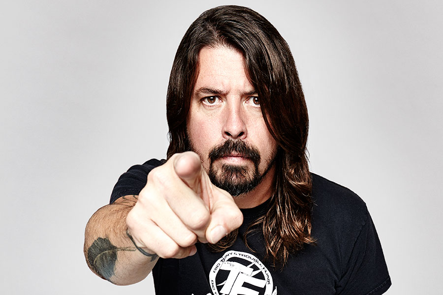 Dave Grohl stops Foo Fighters gig to give drum stick to blind fan – watch