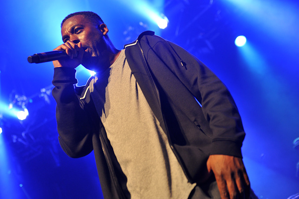 LONDON, ENGLAND - JUNE 28:  GZA performs on stage at The Roundhouse on June 28, 2015 in London, United Kingdom  (Photo by C Brandon/Redferns via Getty Images)