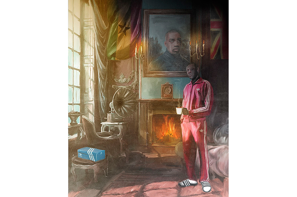 These Paintings Of Grime Mcs As Landed Gentry From The