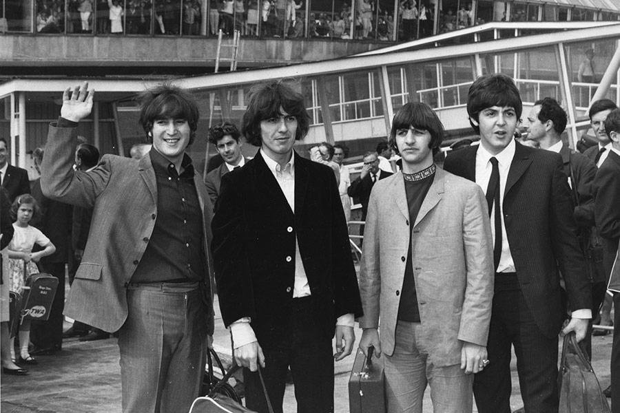 Restored Beatles A Day In The Life Video Features Mick