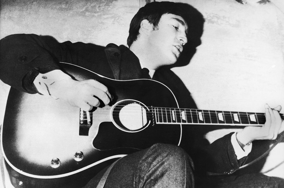 Guitar John Lennon Used To Record Love Me Do Sells At Auction For GBP16m