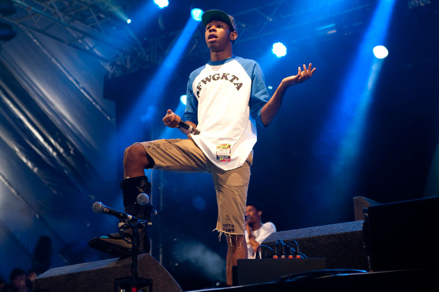 04b49d587fff Hodgy Beats calls Tyler The Creator a  fraud  at Odd Future festival ...
