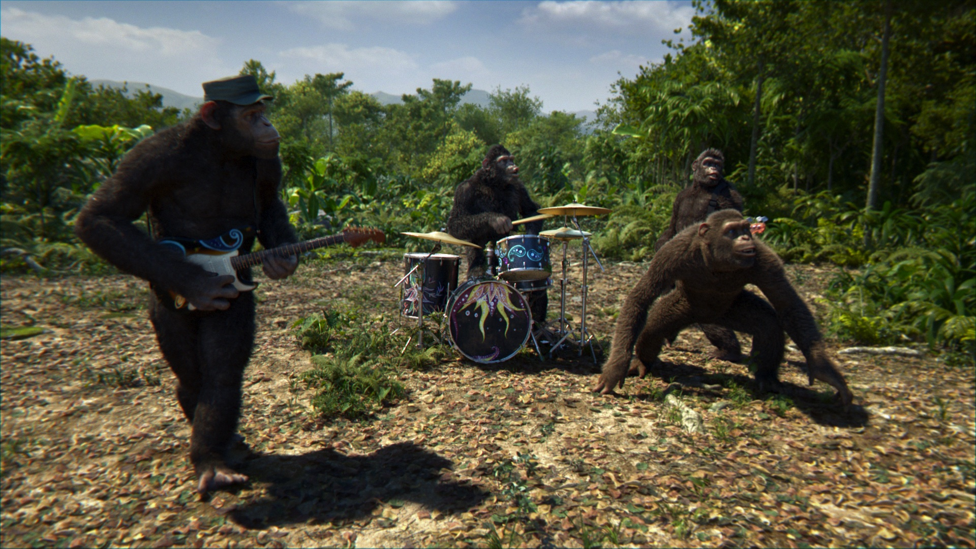 Coldplay S Monkey Doppelgangers Star In New Adventure Of