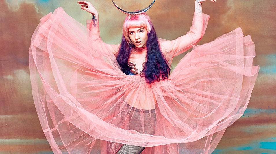Grimes Art Angels Album Cover