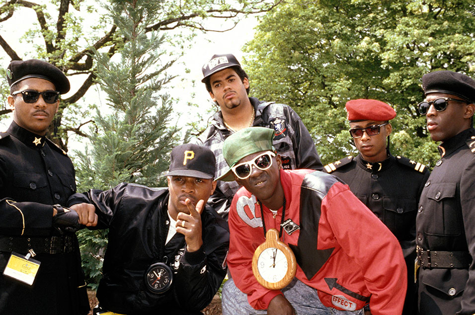 fan drives public enemy to their sheffield gig in his ford escort nme