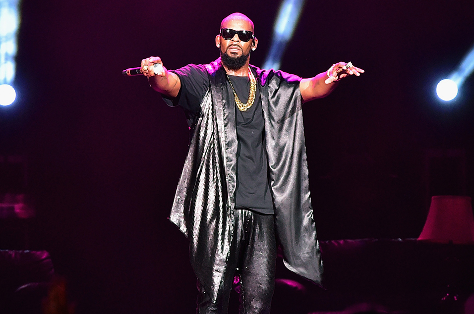 R Kelly storms out of interview after questions about underage sex allegations – watch