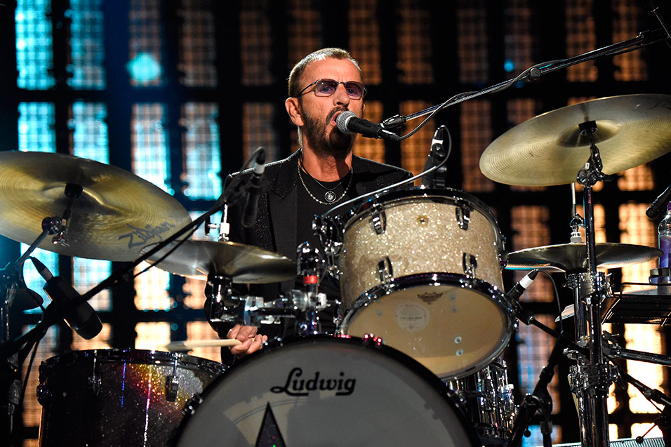 Ringo Starr S Beatles Drum Kit Sells At Auction For 2 2