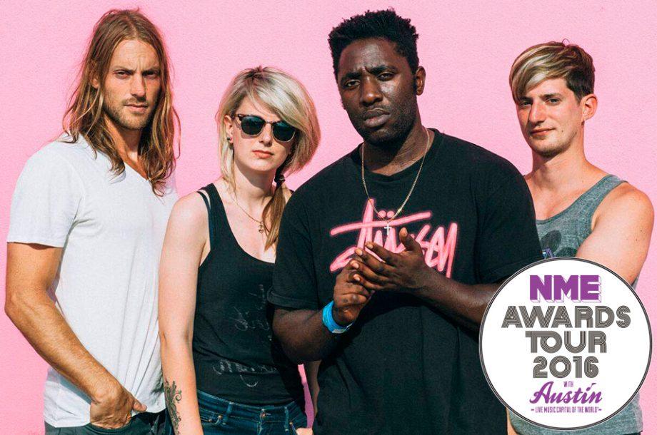 0fc72f81bfa43 Bloc Party to headline NME Awards Tour 2016 with Austin