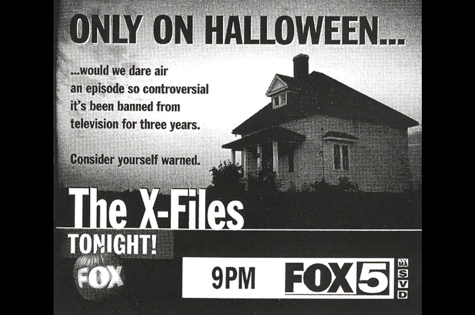 This X Files episode is so scary it was banned from