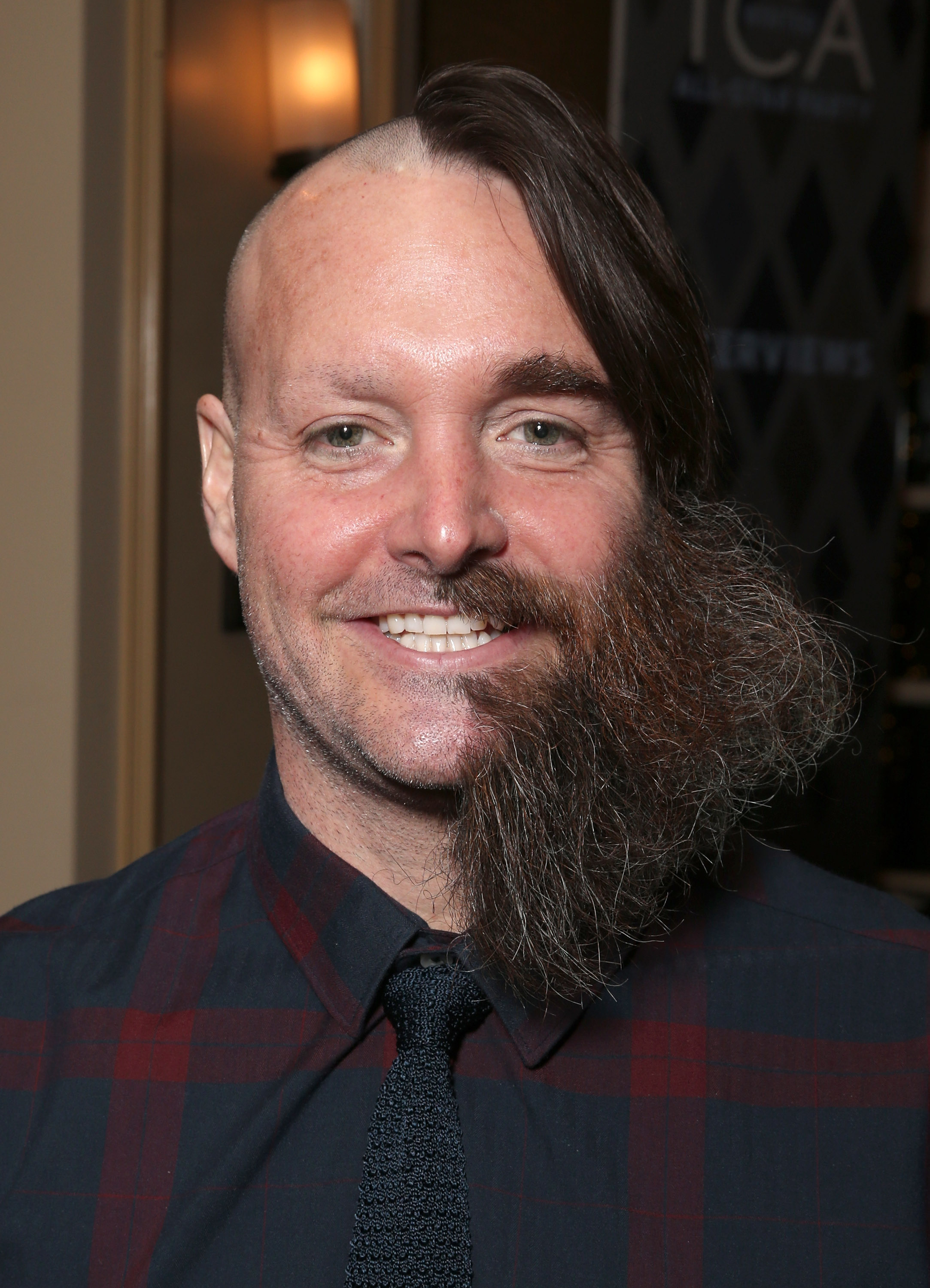 Will Forte Shaved Half Of His Hairbeard Off And Still Had The