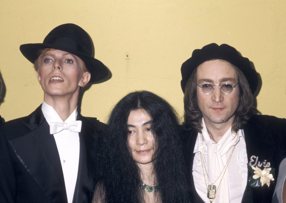 David Bowie Yoko Ono And John Lennon Photo By Ron Galella WireImage Credit Getty