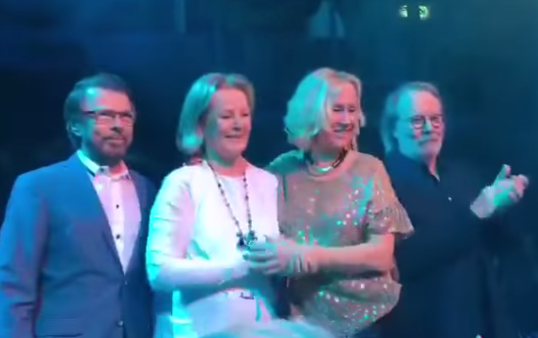 Abba Reunite For First Time In Eight Years Nme