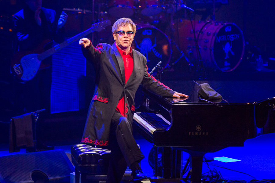 Russian President Vladimir Putin hails Elton John following concerns