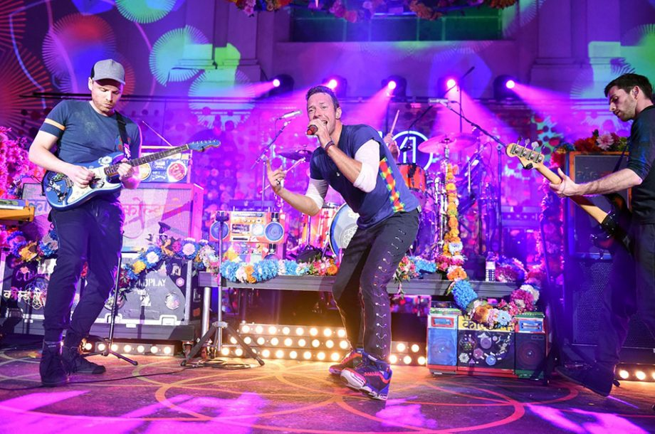 Coldplay launch new album 'A Head Full Of Dreams' at tiny London gig