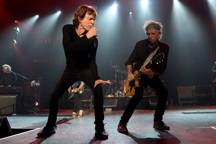 The Rolling Stones have grossed over £225 million on tour since 2012