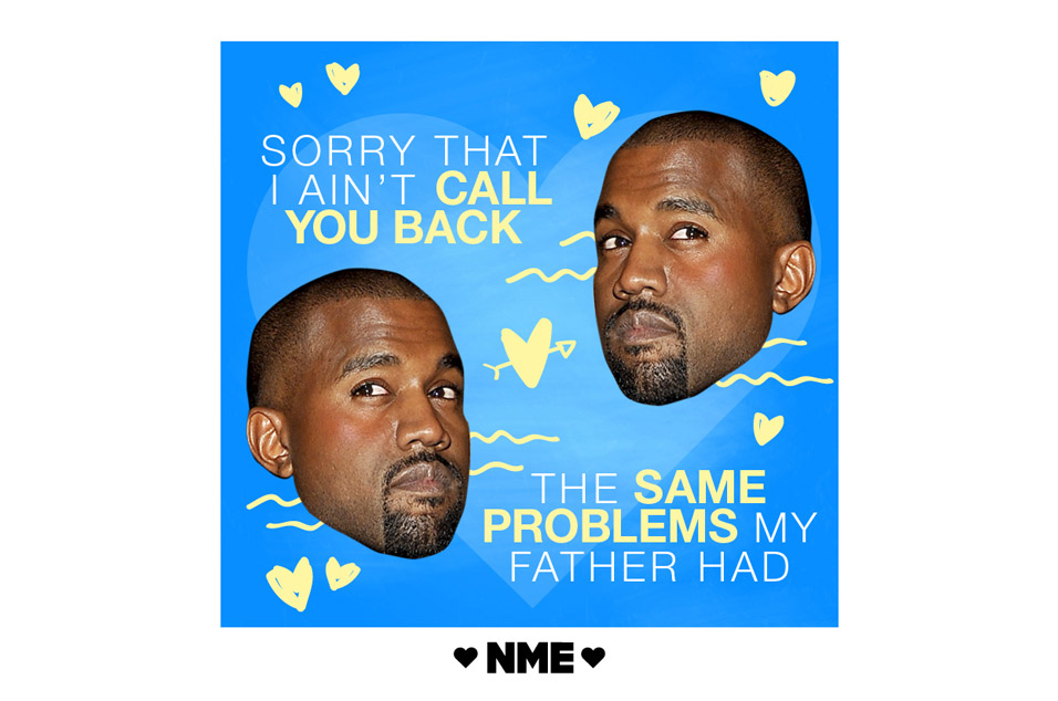 If Kanye West Lyrics Were Valentines Day Cards – Kanye Valentine Card
