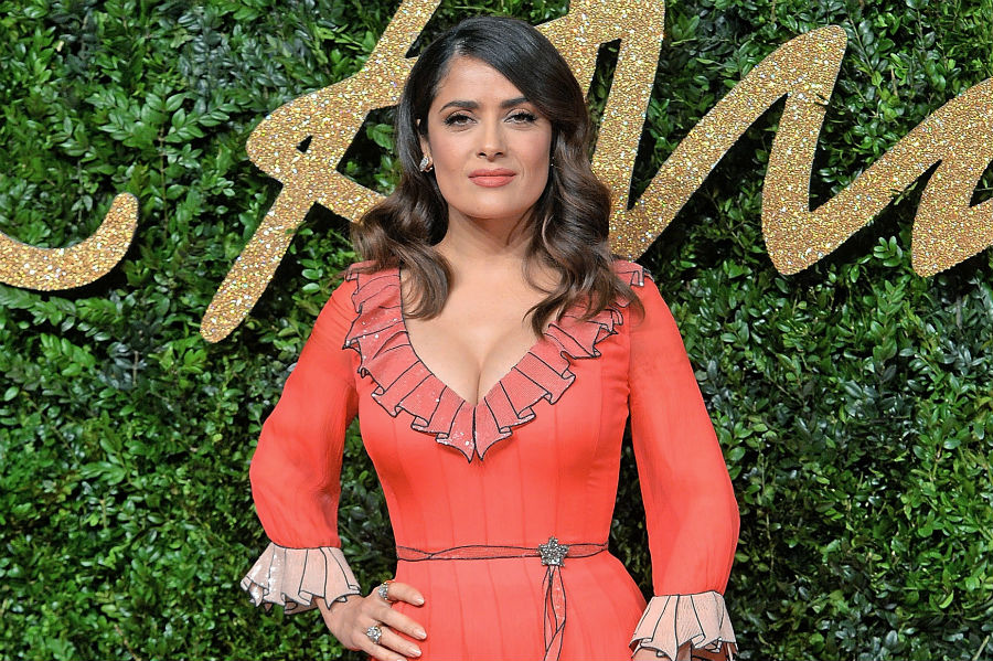 Salma Hayek mourns the death of her dog Mozart, who was shot at her home last week