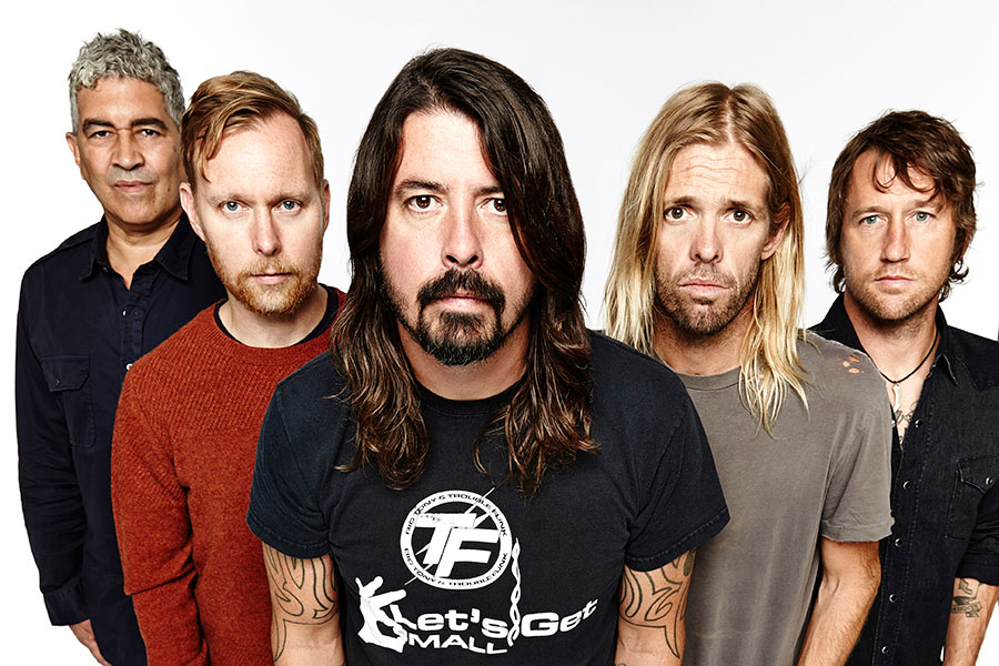 Foo Fighters confirm Glastonbury headline slot in NME Awards acceptance speech