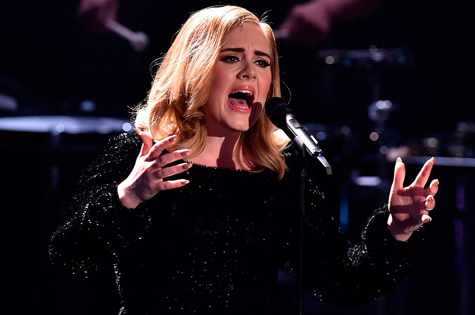 Image result for adele with son