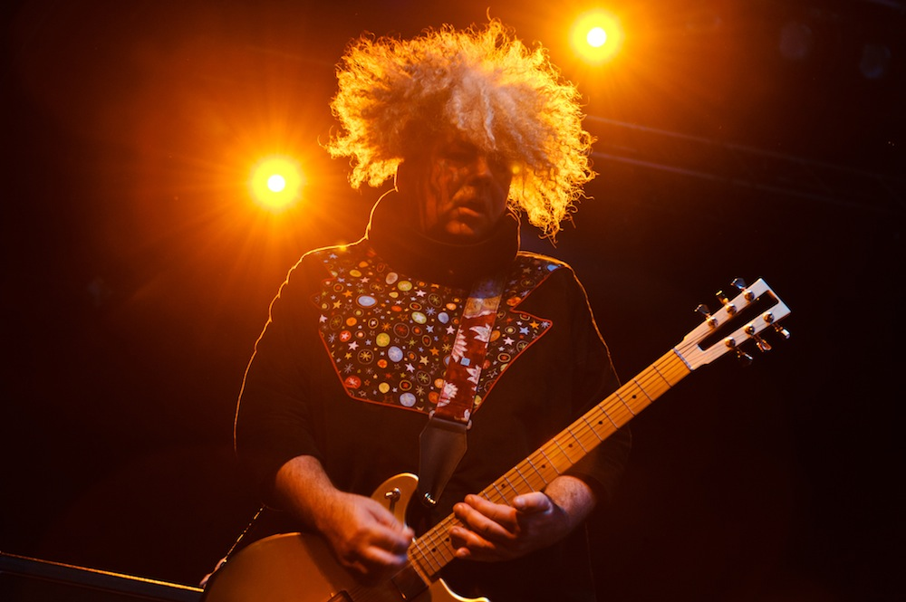LONDON, UNITED KINGDOM - MAY 19: Buzz Osborne of The Melvins performs at Electric Brixton on May 19, 2013 in London, England. (Photo by Joseph Okpako/Getty Images)