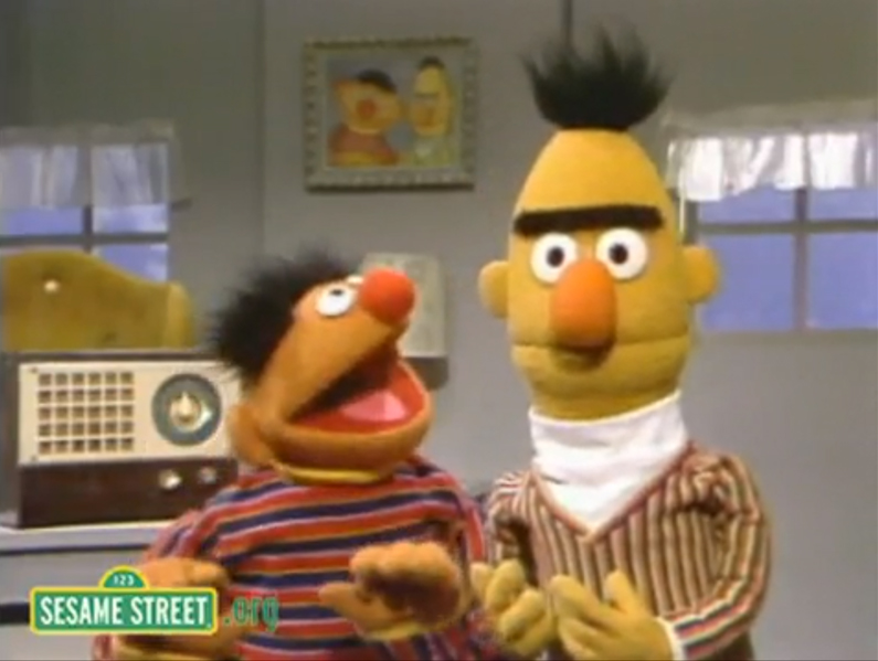 sesame street producer bert and ernie have no sexual orientation