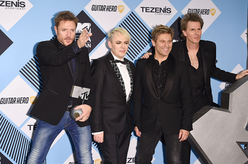 Duran Duran Pay Tribute To David Bowie On Stage With