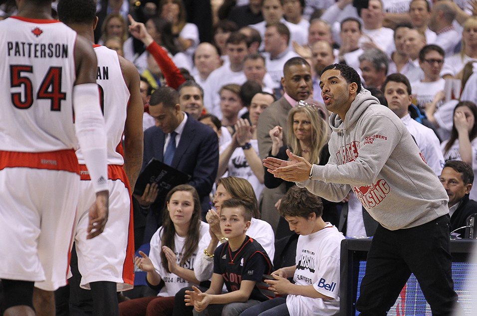 Drake S Hilarious Moments At Toronto Raptors Games