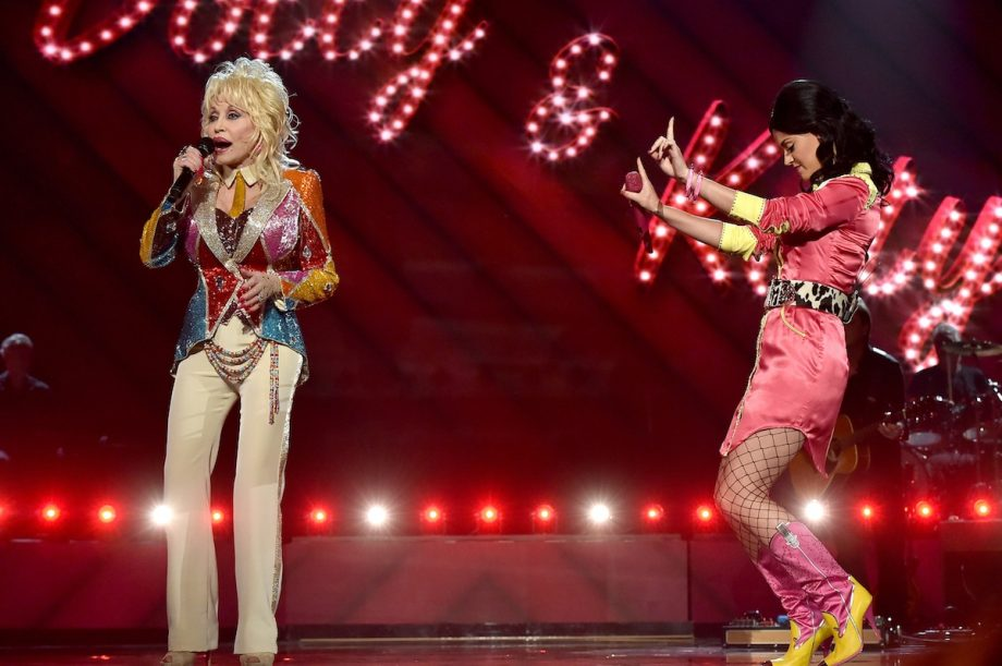 Watch Katy Perry sing 'Jolene' and '9 to 5' with Dolly Parton