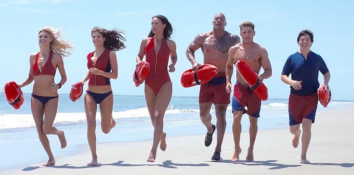 Baywatch let the games begin