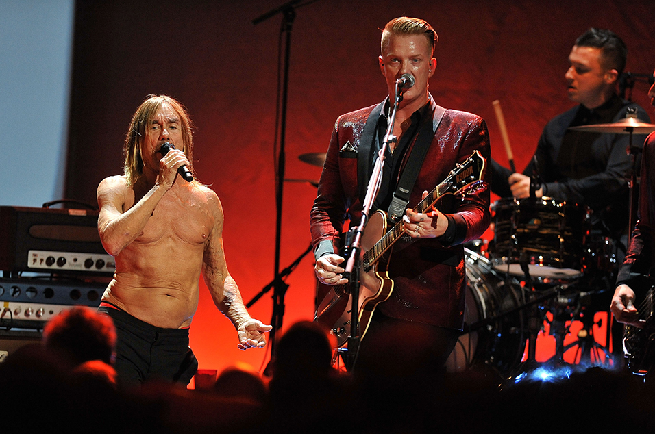 Watch Iggy Pop And Josh Homme Tear Through Lust For Life