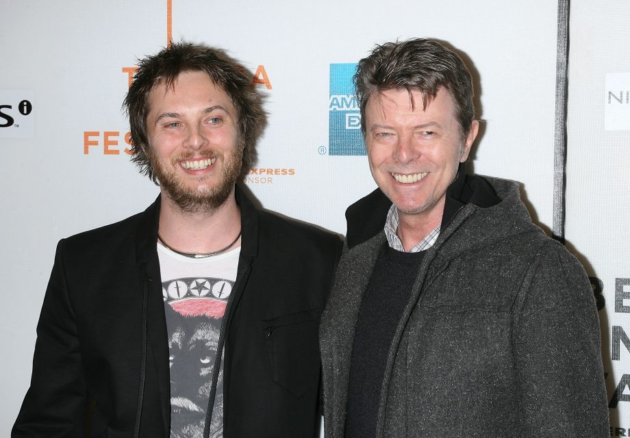 David Bowie's son welcomes first child and names him in