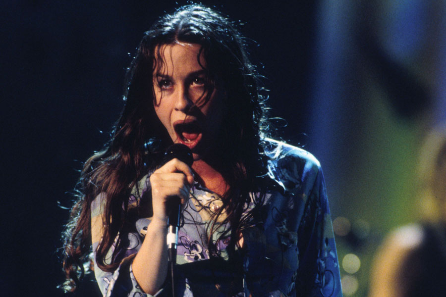 Alanis Morissette Young