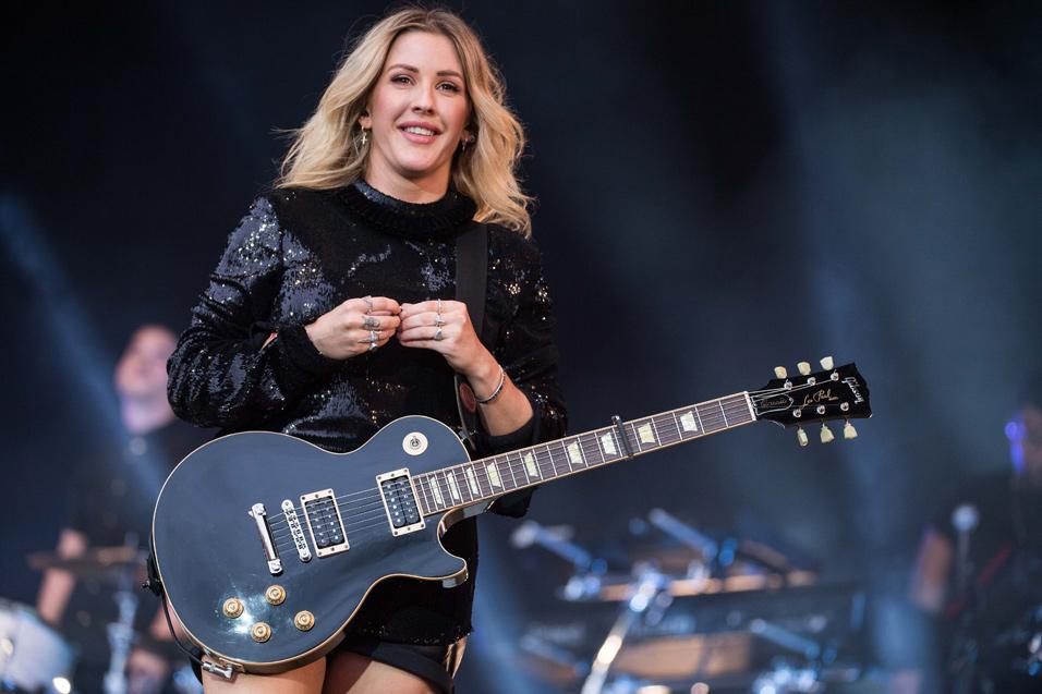 Glastonbury S Newest Guitar God Ellie Goulding Nme